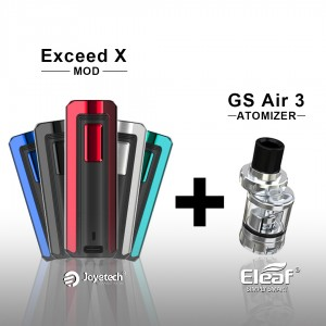 Exceed X + GS AIR 3 (2ml)